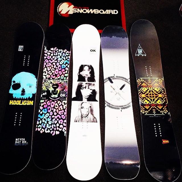 @Melbournesnowboards has our new stuff #Australia #southernhemisphereisalmostwinter #handmadeusa #forridersbyriders #getwitit
