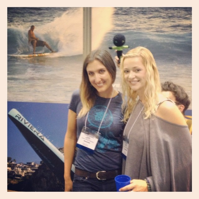 A huge thank you to Anne Mercer for all the hard work at Surf Expo!