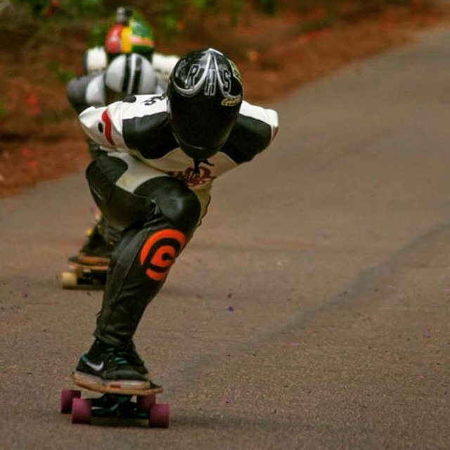 Shout out to @nizeraa_icc for getting 6th in juniors at the Santa Teresa Skate Speed race in Brazil last week!