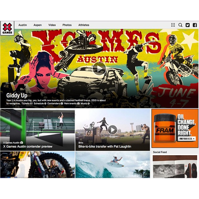 XGames.com has a whole new look!  Click the link on our profile page to check it out.