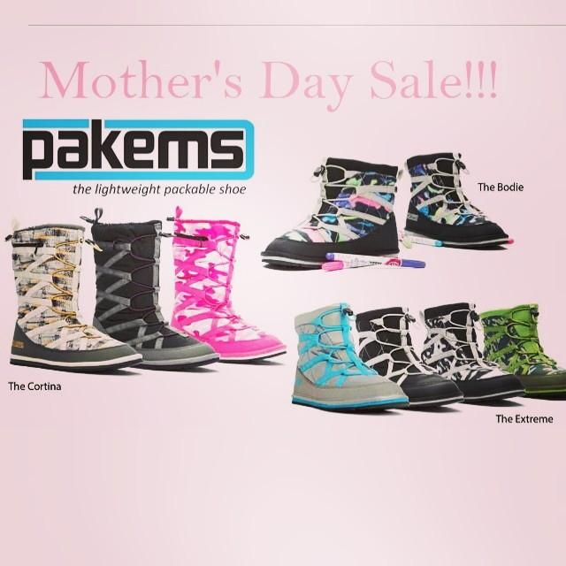 Save 25% on all Pakems for Mother's Day!! Enter code: mothersday  #momsaregreat #comfortable #outdooradventure #bekind #love www.pakems.com