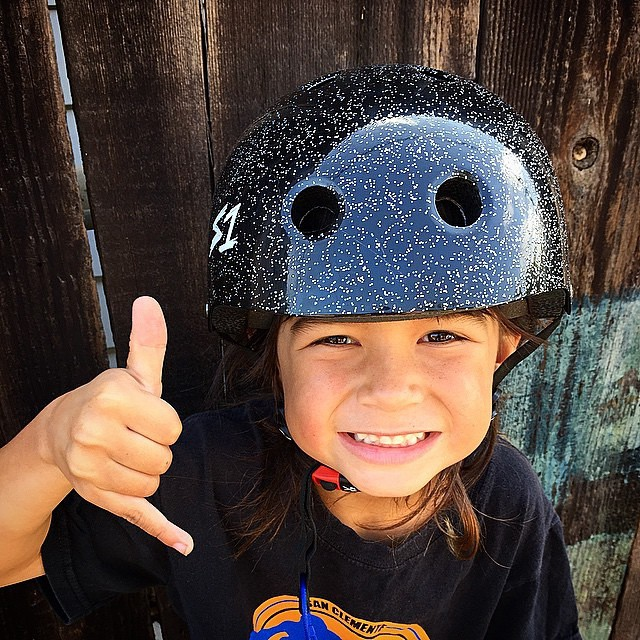 @orion_casas_  rockin his Black Glitter S1 Mini Lifer Helmet ... Every batch of S1 Lifer Helmets is tested by a U.S. third party certified lab to confirm the helmets pass the CPSC high impact test and to ensure that all S1 Lifer helmets maintain the...