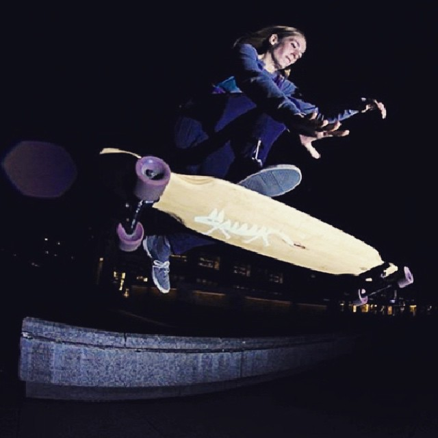 @deborah_keser from LGC Germany shot by @patrickdziumlaphotography. Yeah Debs!  #longboardgirlscrew #skatelikeagirl #womensupportingwomen #girlswhoshred #deborahkeser #germany