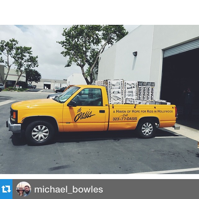 #Repost @michael_bowles This is what $7500 worth of portable skate ramps and rails looks like. Huge thanks to @freshpark @zaculeta // @oasisyouth.live JUNE 5th Grand Opening!! #OasisFreshPark #HollywoodTakeover