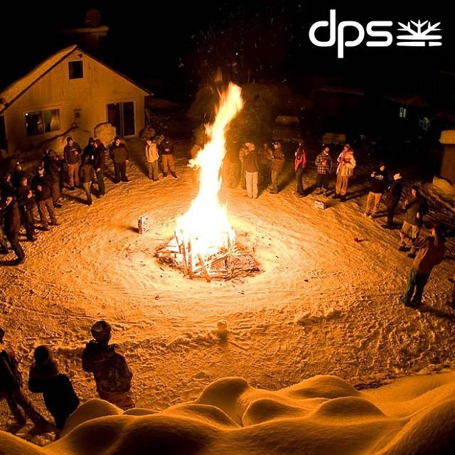 The Tribe. Backhouse Party - Haines, AK. 2009. Photo: @oskar_enander. #dpsroots #dpsskis #PowderRoad #Alaska #tbt