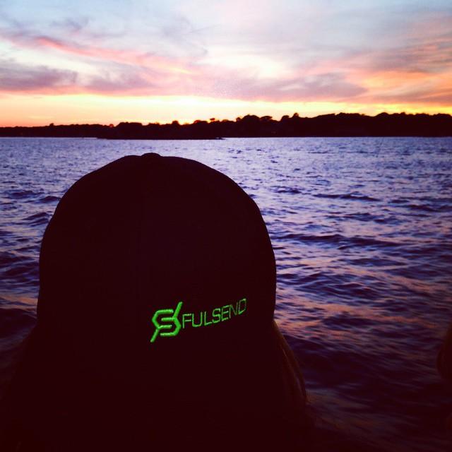 #sunset #JustSendIt #sonomafia #wakeboard #wakesurf #malibuboats #snapbacks #nofilter #norwalk
