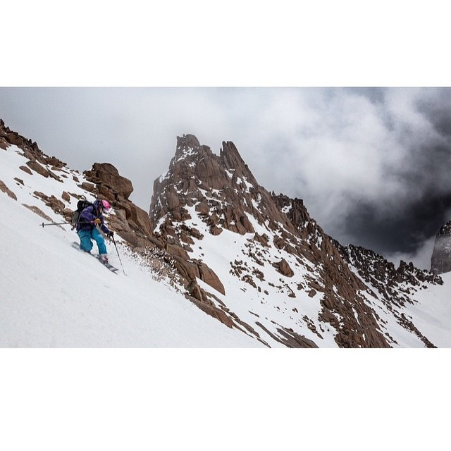 Flylow's @lucysack knocking one of the many CO 14ers off the list.