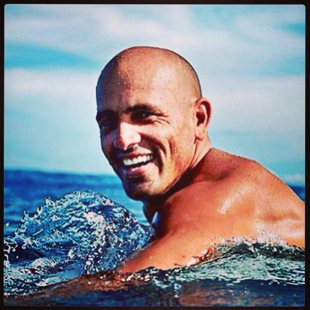 #stokedmoment with @kellyslater! #surf #surflife #surfing #sunshine #stoked