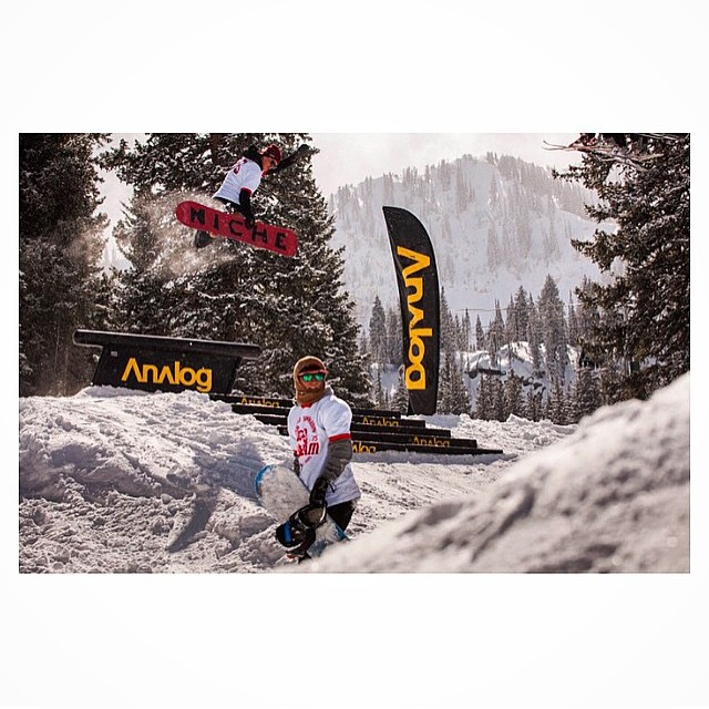 Alex Lockwood (@alexcirocwood) takes the high road and pushes out a method up and over it all...hope you're taking advantage of snow this weekend, if you still have it! photo by @gfurey