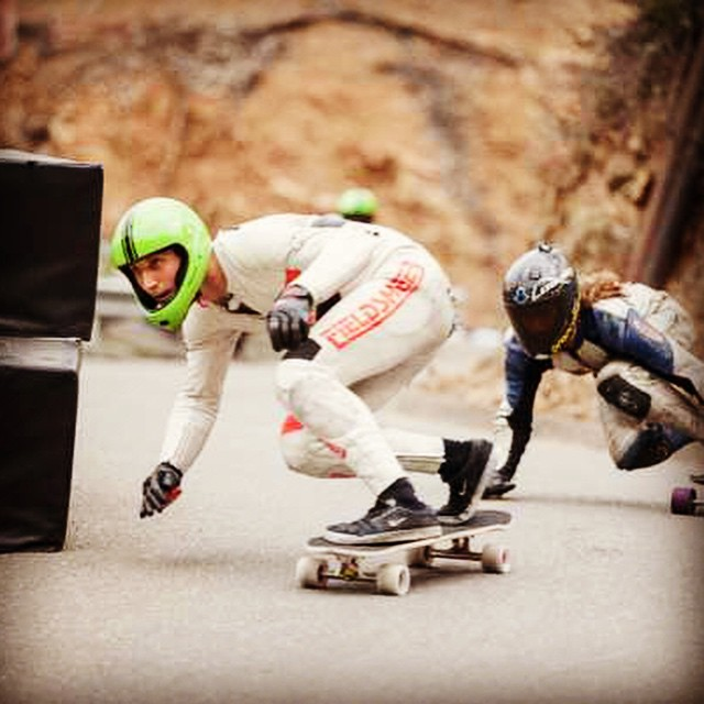 Happy Friday y'all! Skate, skate skate!  @wheelbasemag has the Catalina Island Coverage up on the site. Cruise over and check it out!  AM Team rider Alex Sucala--@sucalaalex leading the pack, hands up, outta corner five at the Catalina Island Classic!...