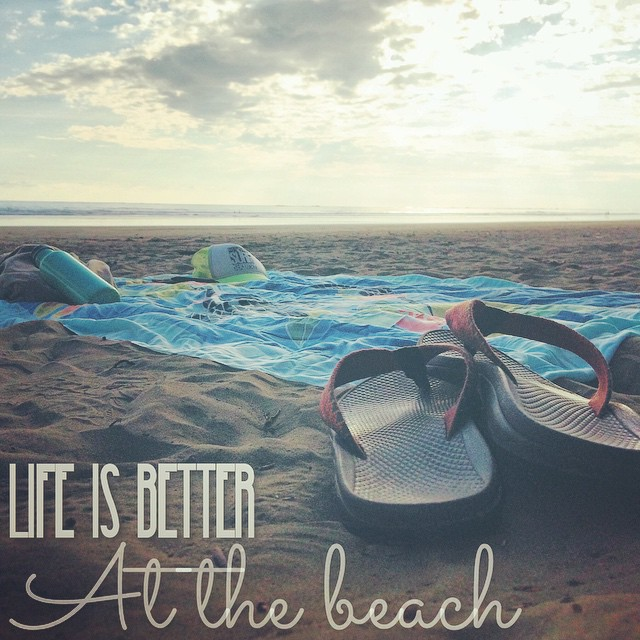 Ain't it the truth?  #summerallyearlong #flipflops #sarong #kleankanteen #allyouneed