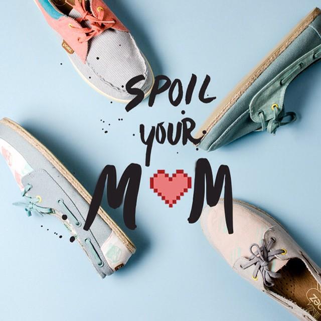 Mañana es el día de la madre en en Perú, Colombia, México y Uruguay.. Pero vamos a ser cursis y decir que cualquier día es bueno donde sea para regalarle unas #Paez #SpoilYourMom #shoes #fashion