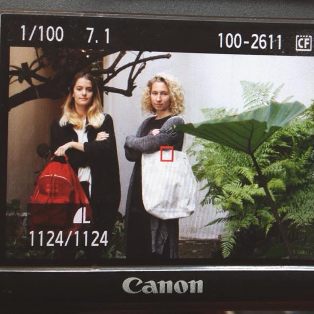 Team MAMBO en la producción de fotos para Tiempo Argentino