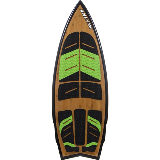 "The 4' 8"" Bamboo from Shred Stixx is proving to be the new standard in performance surf style wakesurfers for the new season. One week left in the slayshTank Pre Sale offer to save $300 on your new Stixx!  The 4' 8"" Bamboo features a step deck,..."