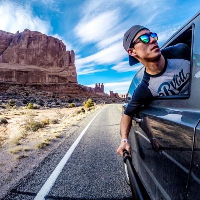 That feeling of an awesome road trip ahead! #EnjoyTheRide Kameleonz.com