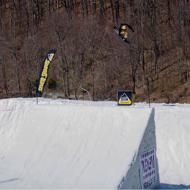 Tristin sends one at Superpark 19 a little while back...The White Dread goes large...photo by @tommissert