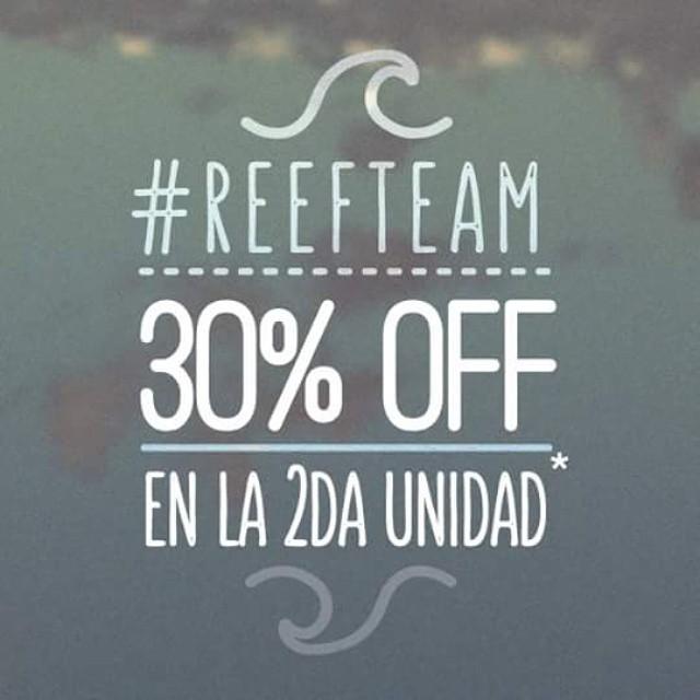 SÁBADO Y DOMINGO - 30% DE DESCUENTO en la segunda unidad! Pasá por nuestros #ReefStores para acceder a este beneficio! #Unicenter #ReefMDP #Marpla #AbastoShopping #AltoAvellaneda #PlazaOeste #JustPassingThrough #LifeIsShortGoSurfing