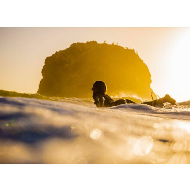 Magic hour bliss. @hisarahlee #goodhumancrew #indosole