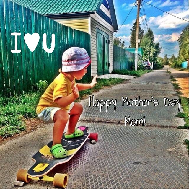 Happy Mother's Day to all the moms out there!  #HappyMothersDay #Mothersday2015 #revbalance #boardsports #balanceboards #madeinusa #love #Moms #ILoveMyMom #longboarding