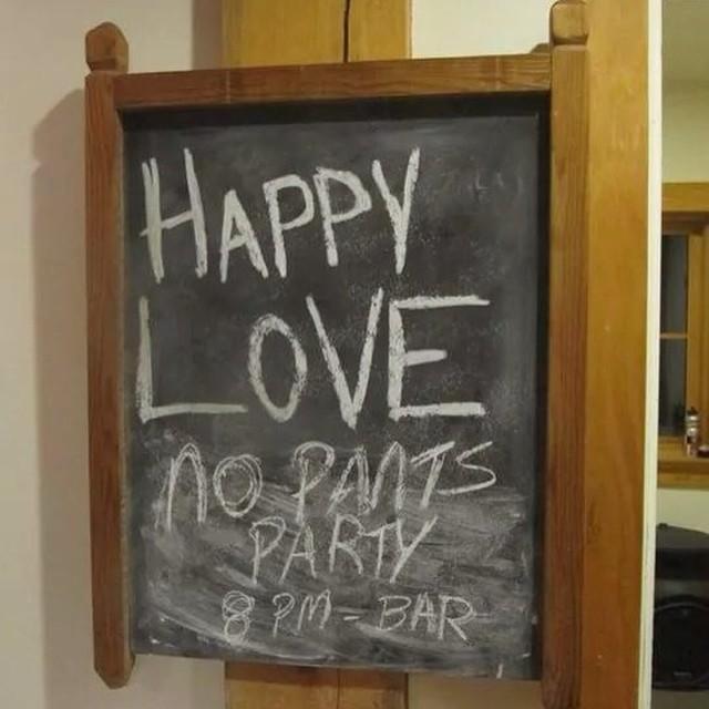 Happy love #nopantsparty #sendit  #retallack