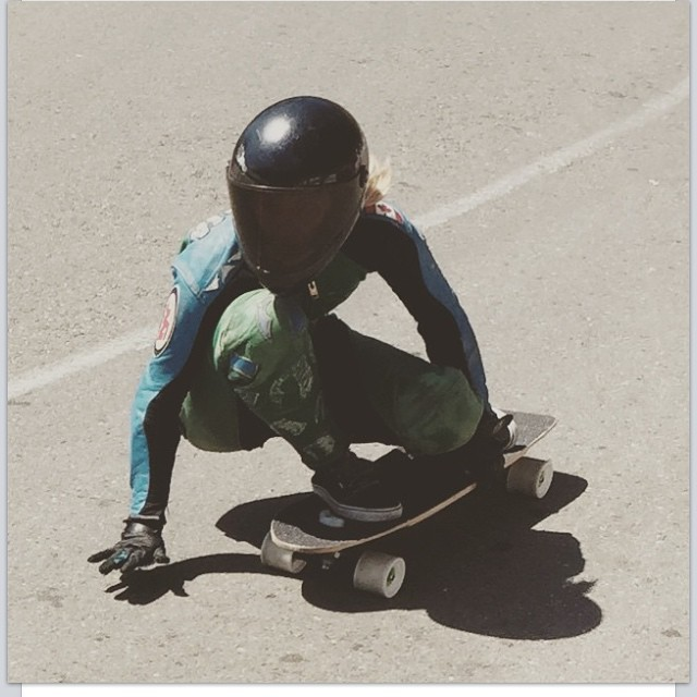 @vwaddington_skates looking solid down the @catalinaislandclassic a few days ago! #keepitholesom pic @pushculture