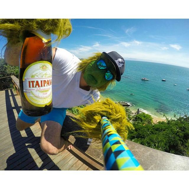 #TheZephyrGrinch se tomo unos dias de vacaciones en #Buzios #Brasil !!