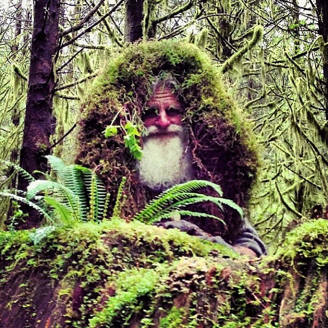 For 25 years Mick Dodge has lived in the HOH Rainforest in the Pacific northwest. #saverainforest #cuipo visit cuipo.org today and save rainforest.