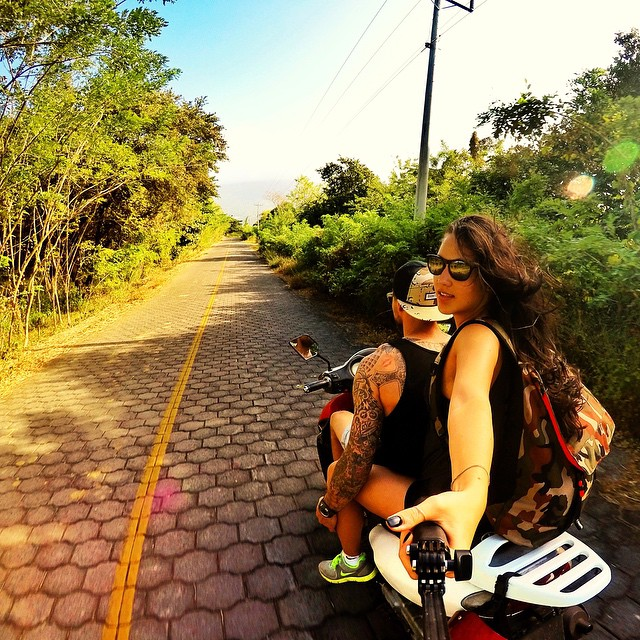 GoPro athlete @GeoffGulevich and @briannasaimoto cruising through Nicaragua last fall. Captured with a 3-Way mount and HERO4 Silver on timelapse mode. #GoPro #GoProGirl