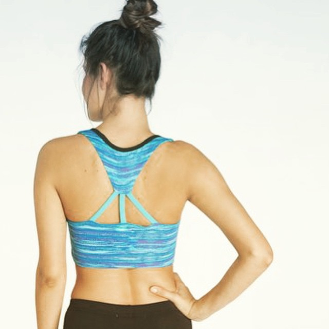 Ready for Monday #sweatsesh in the #new Nixie Sports Bra. Made from 88% #recycled poly.