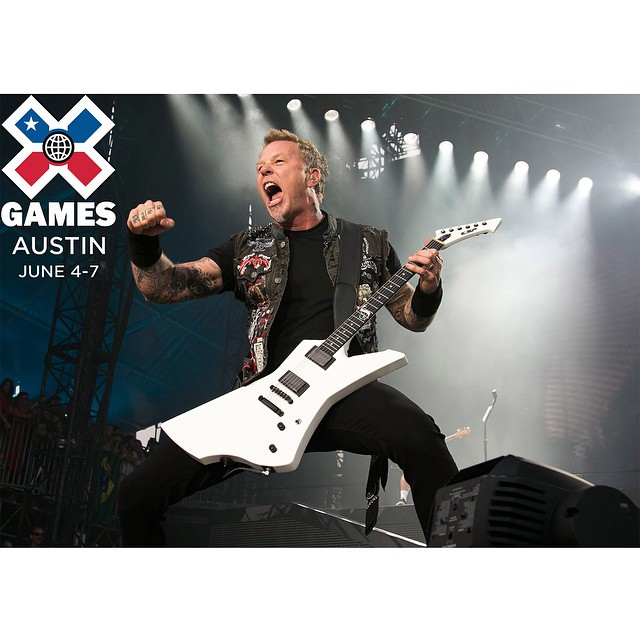 @metallica is going to headline #XGames Austin in June!  Click the link on our profile page to pick up tickets.