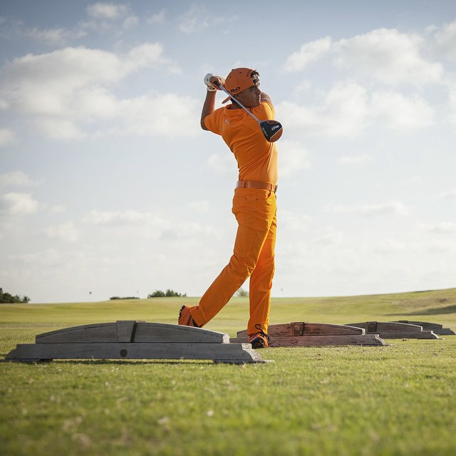 Congrats to @therealrickiefowler on the HUGE win at #ThePlayersChampionship!