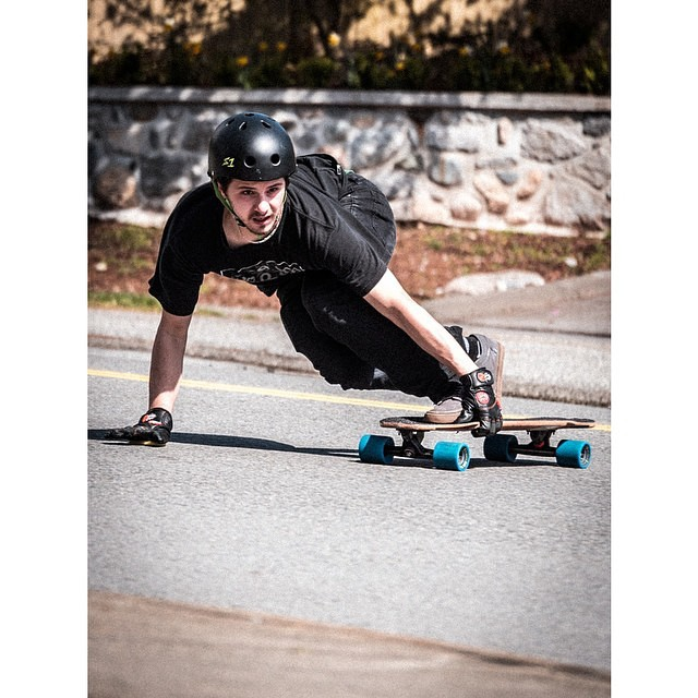 @alexisgl1 on his local run . Regram @valhallaskateboards #valhallaskateboards #yeehaw