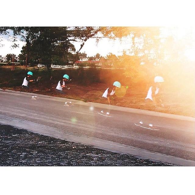 @jennarus Always dreamy ☁️ #skateboarding #photography #freeride #longboardgirlscrew #xshelmets #skatebikeboardski #girlswhoshred