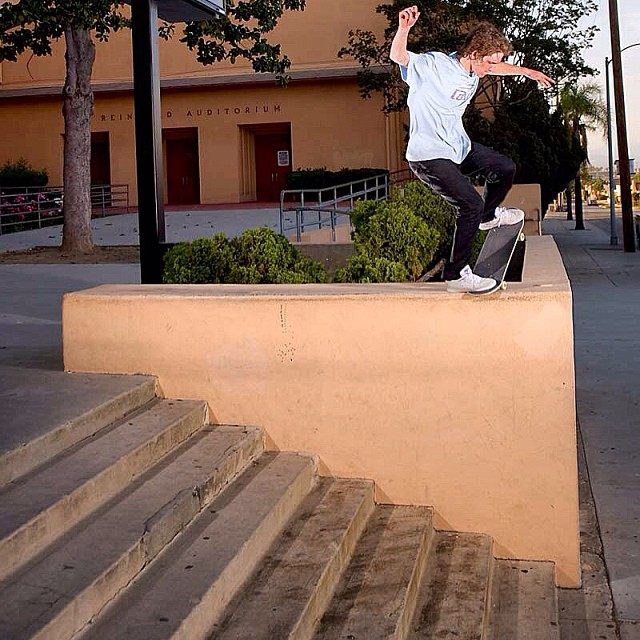 @nickpalmquist riding out this #noseblunt