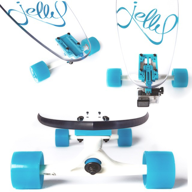 We are live on Indiegogo!!! Click the link in our bio to score on the early-bird special!! 55% off on the first 100!!! #jellyskateboards #jellymanowar #blockrisers #indiegogo #sandiego