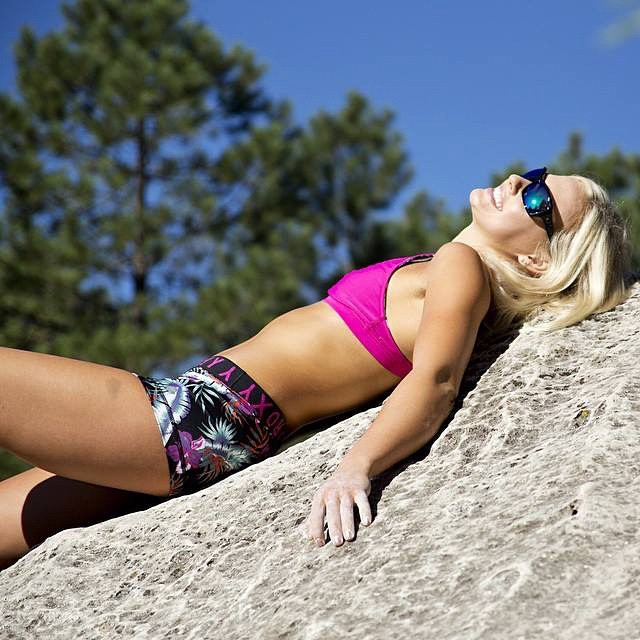 The happiest one under the sun.  @sierrablaircoyl lets in the good rays with the#HappyLens.  #SEEHAPPY