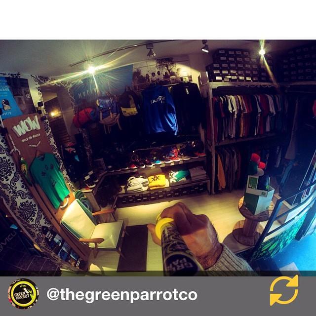 RG @thegreenparrotco: WE'RE Open!  Ya conoces nuestro #GPshop?  @wildonwater @vicusba @gekkoarg y muchas marcas más  te esperan en nuestro local!  Venite, hasta las 20hrs estamos!  It's about lifestyle