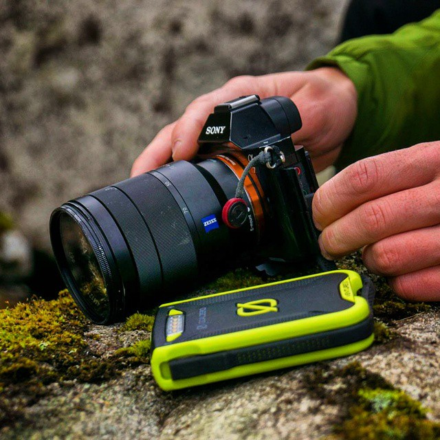 Yeah, it'll charge your @Sony A7. #GetOutStayOut  Photo: @chrisburkard