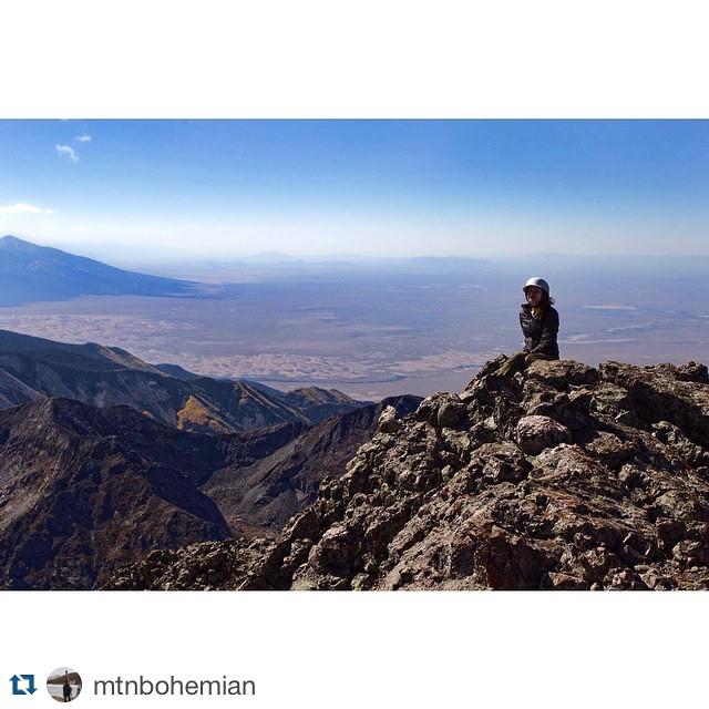 #Repost @mtnbohemian with @repostapp. ・・・ Crestone Peak | Summer 2014 #crestonepeak #sanddunes
