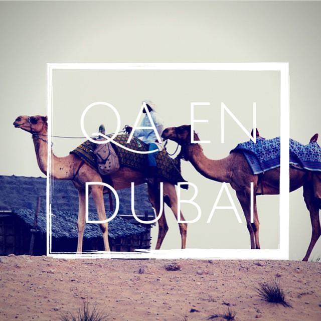 Estamos recorriendo el Mundo y formando el equipo con más Actitud. Ahora nos podés encontrar en Dubai en 6/b Street, Al Quoz, Dubai, UAE #QAxElMundo #ActitudQA www.QA.com.ar