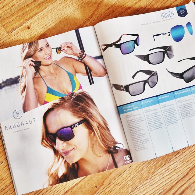    SUP the MAG • GEAR GUIDE    Hoven is stoked to be featured in the 2015 @supthemag Gear Guide. Check out the 1st of the Floatable Series Argonaut   Monix AVAILABLE May 20 and our most popular frames for Summer. Other great products listed as well....