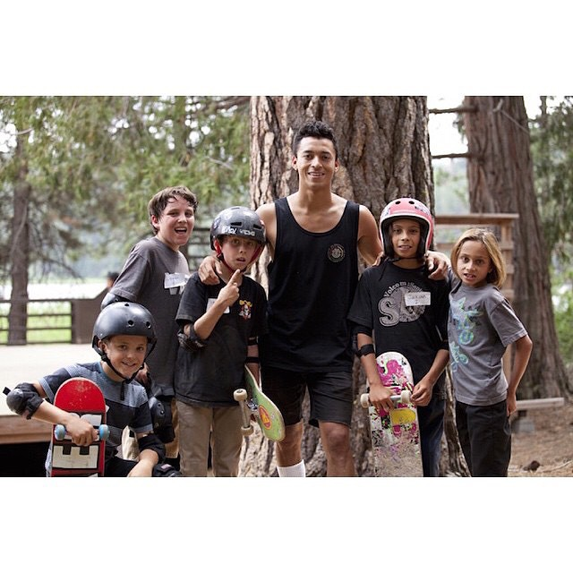 Do you want to skate with @Nyjah at his private skatepark? Nyjah Huston is helping our non-profit @elementalawareness raise funds to send eligible kids to @elementskatecamp this summer. Click the link in our bio to bid on a private skate session...