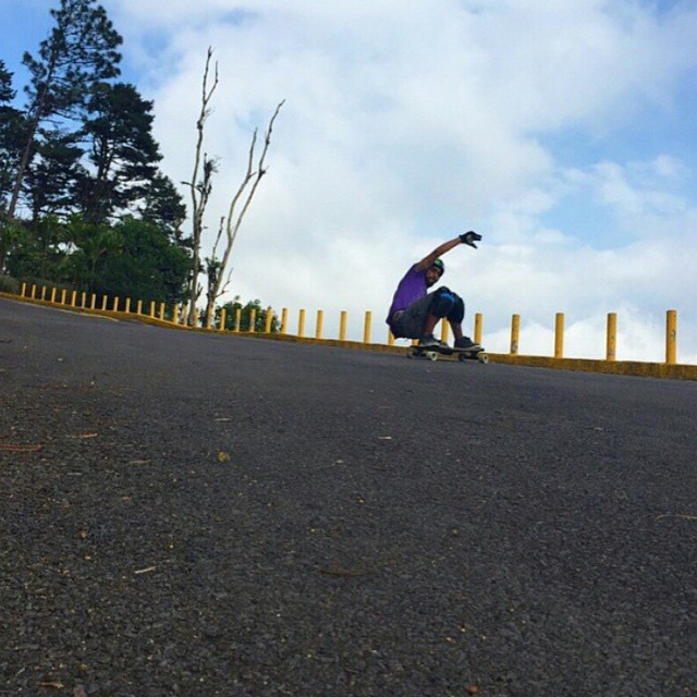 Stalefish with @carlosm_dmcr on the Lunchtray. #longboard #longboarding #longboarder #dblongboards #goskate #shred #rad #stoked #skateboard #skateeveryday