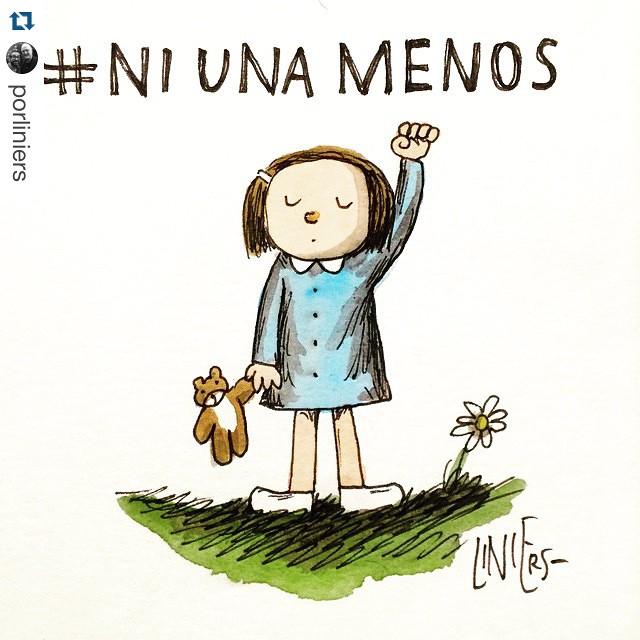 #Repost @porliniers with @repostapp. ・・・ 3 de Junio. Plaza Congreso. 17hs. Basta de Femicidios. #NiUnaMenos