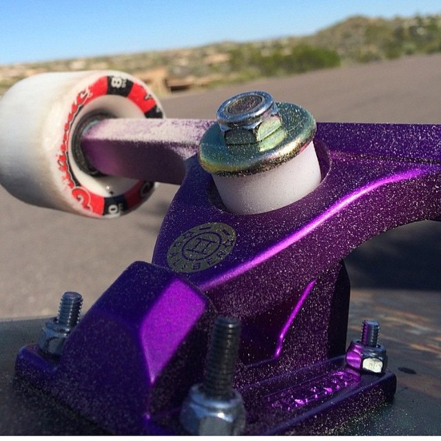 @asher_31 coating his #purplesatins nicely with some spent urethane
