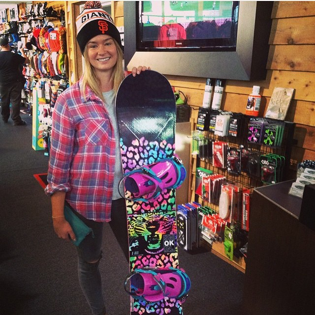 Our friends @Melbournesnowboardcentre in Australia are just getting going for their winter, our #Vixen board found a great new home. #handmadeusa #forridersbyriders #weareok
