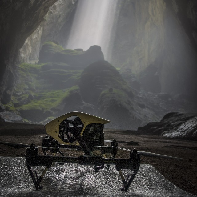 Get 'em a Bia hoi!  On May 13, 2015, #DJI and @GoodMorningAmerica went to explore the Hang Son Doong Caves in #Vietnam.  Flown deep into the jungle by a Russian helicopter in 42C heat and 100% humidity, DJI's Director of Education, Romeo Durscher and...