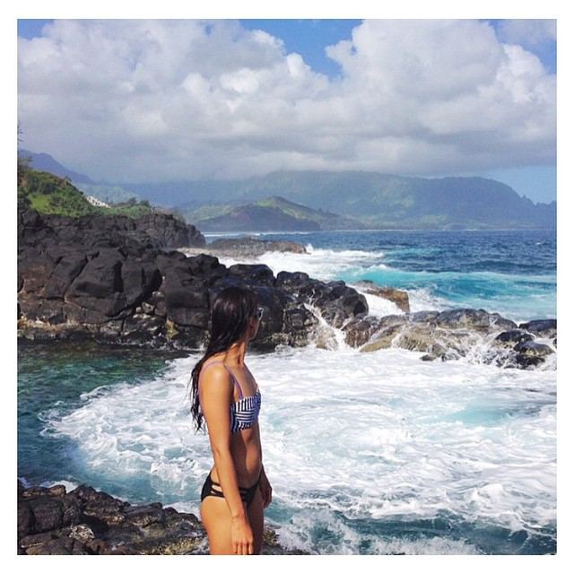 @thesurftorialist looking good in the #seeacambria top and #seeacapitola bottoms how do you pair your Seea bikinis? Show us!