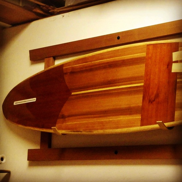 Wave Triber Ben just ordered a #boardbag for this beautiful hand crafted #woodsurfboard.