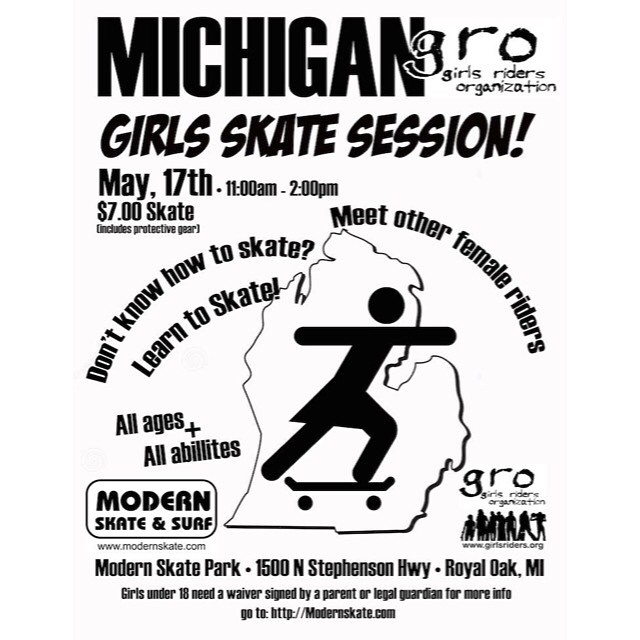Come shred this Sunday @modernskate ALL ages and abilities welcome #ridetrue